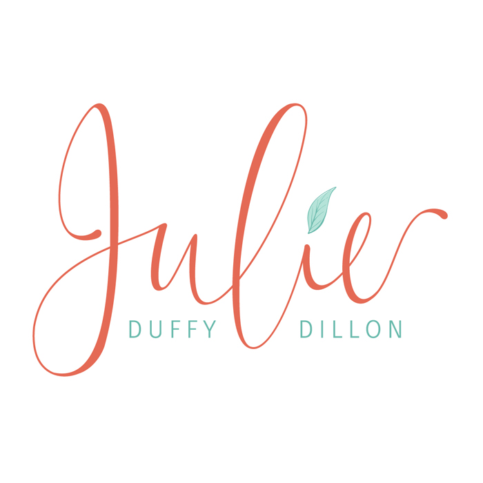 Julie Duffy Dillon brand design by Pop & Grey
